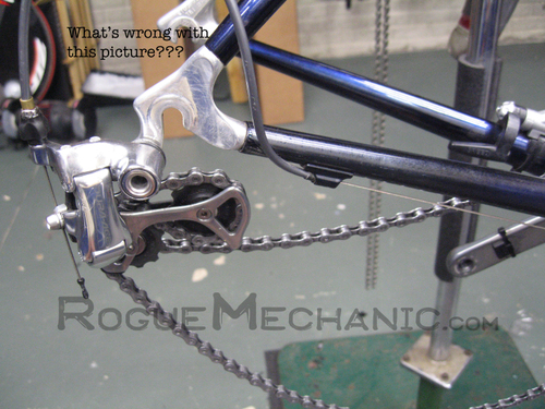 Damaged D/A Rear Derailleur 01